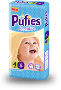 Pufies Sensitive: Package Size 4