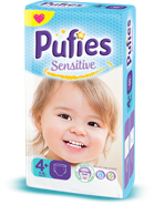 Pufies Sensitive: Package Size 4+